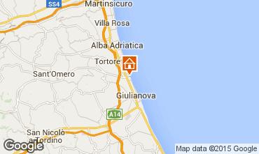 Mapa Giulianova Apartamento 23634