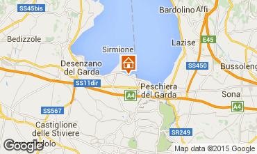 Mapa Sirmione Apartamento 66203