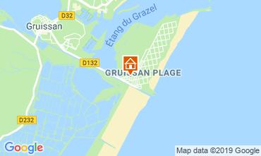 Mapa Gruissan-Plage Apartamento 79185