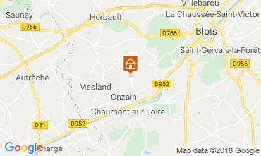 Mapa Blois Mobil home 117561