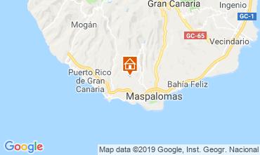Mapa Playa del Inglés Villa 118828