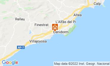 Mapa Alicante Apartamento 114188