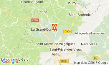 Mapa Alès Villa 112619