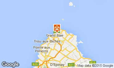 Mapa Grand Baie Villa 5356