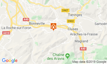 Mapa Mont Saxonnex Chalet 92047
