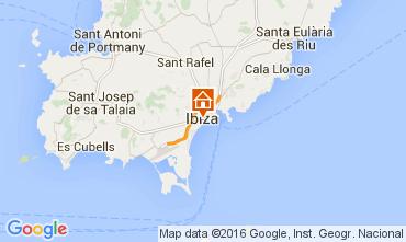 Mapa Ibiza Apartamento 98200