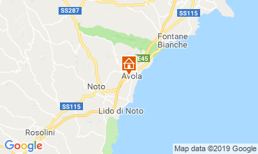 Mapa Avola Apartamento 87482