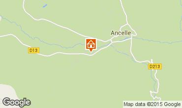 Mapa Ancelle Chalet 78718
