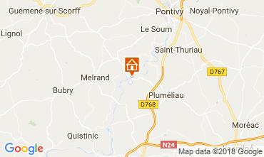 Mapa Baud Villa 115829