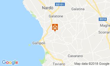 Mapa Gallipoli Apartamento 116392