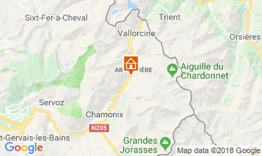 Mapa Chamonix Mont-Blanc Apartamento 116295