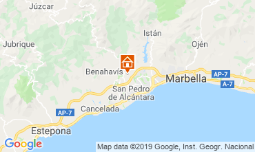 Mapa Marbella Villa 118980