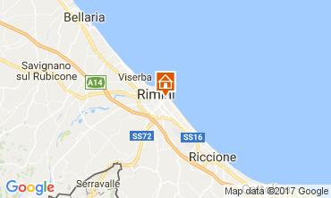 Mapa Rímini Apartamento 110826