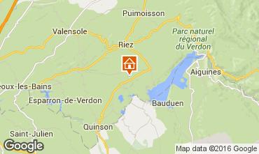 Mapa Sainte-Croix-du-Verdon Casa 102315