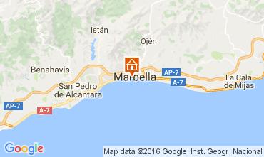 Mapa Marbella Apartamento 42108