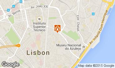 Mapa Lisboa Apartamento 56054
