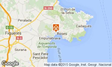 Mapa Rosas Apartamento 8306