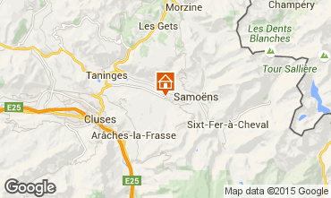 Mapa Morillon Grand Massif Estudio 24998