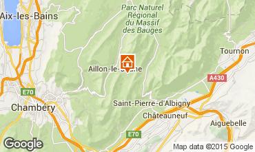 Mapa Les Aillons Estudio 64343
