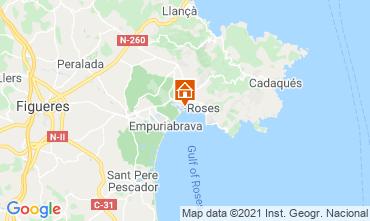 Mapa Rosas Apartamento 105098