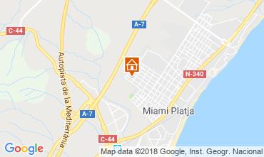 Mapa Miami Playa Villa 116439