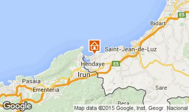 Mapa Hendaya Apartamento 66572