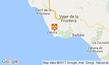 Mapa Barbate Villa 104021