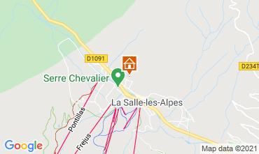 Mapa Serre Chevalier Chalet 41653