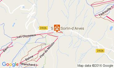 Mapa Saint Sorlin d'Arves Apartamento 27289
