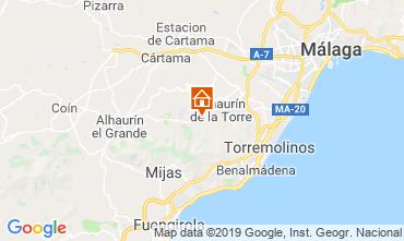 Mapa Málaga Villa 118579