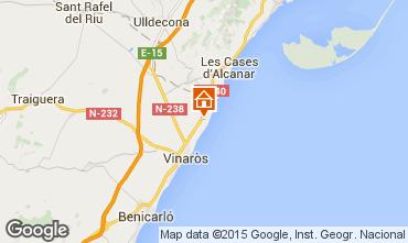 Mapa Vinaroz Villa 11350