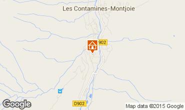 Mapa Les Contamines Montjoie Apartamento 50021