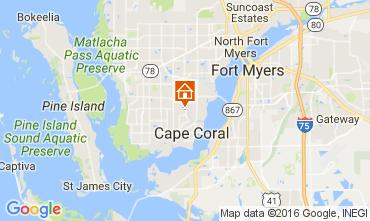 Mapa Cape Coral Villa 106569
