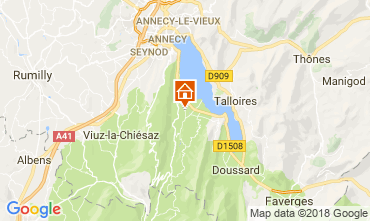 Mapa Annecy Apartamento 114387