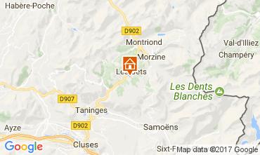 Mapa Les Gets Chalet 112178