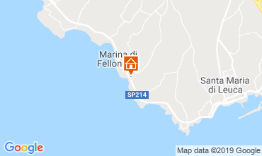 Mapa Santa Maria di Leuca Villa 64390
