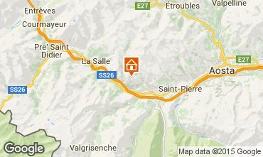 Mapa Saint Nicolas Casa rural 91491