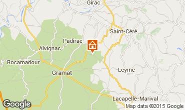 Mapa Rocamadour Casa rural 92955
