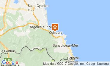 Mapa Collioure Apartamento 108645