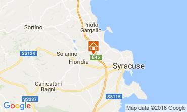 Mapa Siracusa Villa 115795
