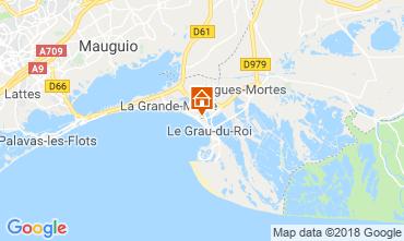 Mapa Le Grau du Roi Apartamento 111460