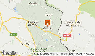 Mapa Marvão Casa rural 58463