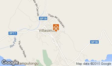 Mapa Villasimius Apartamento 93145