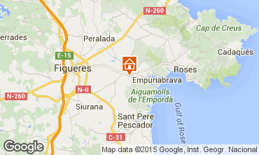 Mapa Ampuriabrava Casa 96973