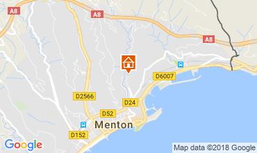 Mapa Menton Apartamento 115764