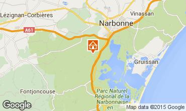 Mapa Narbonne Apartamento 41819