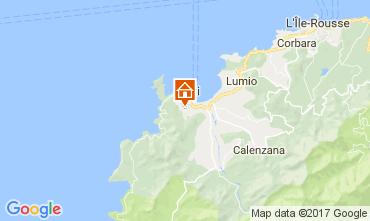 Mapa Calvi Villa 111491