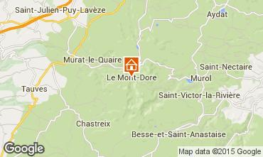 Mapa Le Mont Dore Apartamento 42364