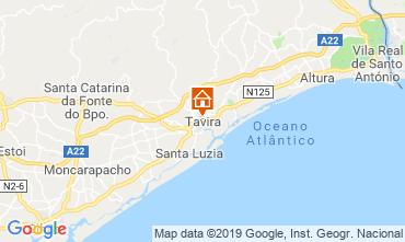 Mapa Cabanas de Tavira Apartamento 119589