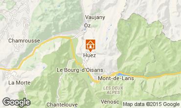 Mapa Alpe d'Huez Chalet 100569